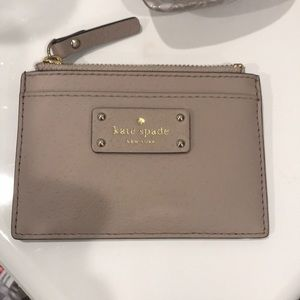 Kate spade coin and card holder! Authentic!!